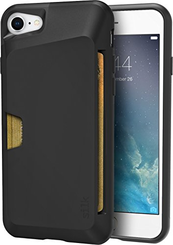 Silk iPhone 7/8 Wallet Case - VAULT Protective Credit Card Grip Cover -