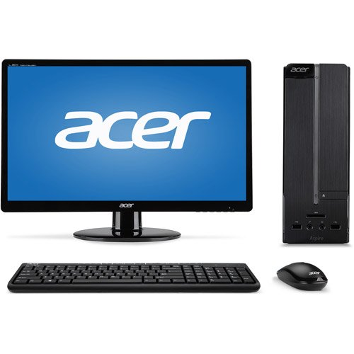 Aspire XC-603G Desktop PC J1900 4GB 500G with 19.5 LED Monit