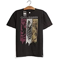 Camiseta Game of Thrones Bandeiras