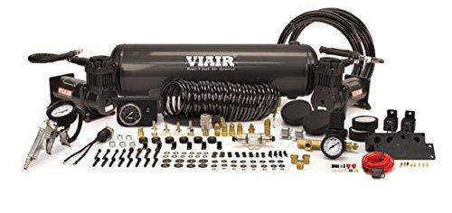 VIAIR 20014 Stealth Black Dual 380c Onboard Air Kit, 1 Pack