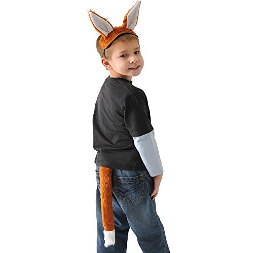 Fox Ears and Tail Set for Children - Kid Tails
