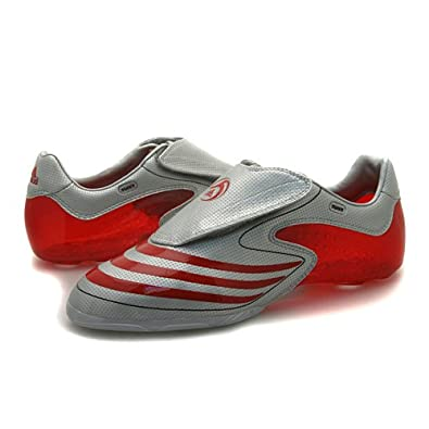 ad131b459f Mens Adidas F50.8 TUNIT Silver Uppers Football UK 11  Amazon.co.uk  Shoes    Bags