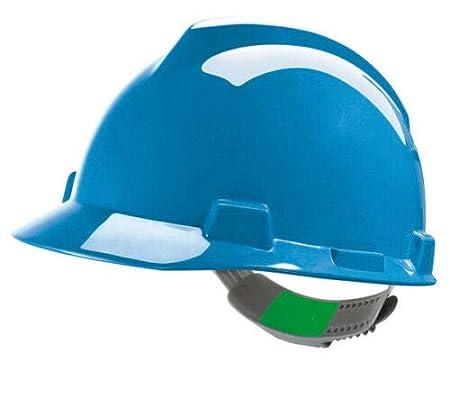 MSA V-Gard Hard Hat Safety Helmet 6 Colours MSAGV Colour=Green