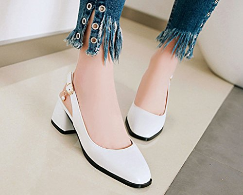 HiTime Mules Mules Blanc Femme HiTime Femme zz0wHqR