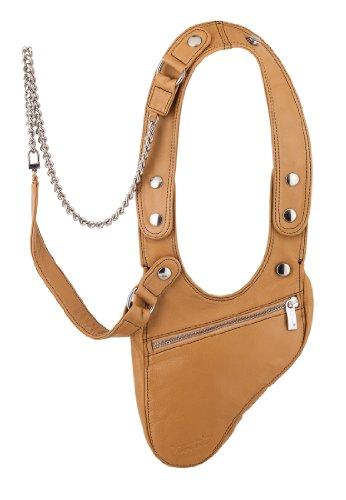 PUNANI Revolverbag Bolso Bolso de Mano - CAMEL CONTRAST -