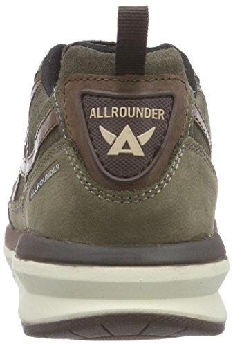Allrounder by Mephisto KALIBRA G.NUBUK 34/O.SUEDE 34 FOG/FOG - Zapatillas De Deporte Para Exterior de cuero mujer marrón - Braun (FOG/FOG)