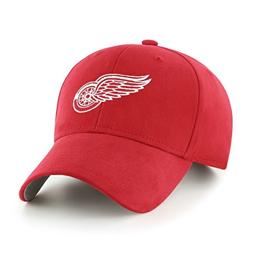 Hockey Hat Detroit Red Wings (OTS NHL Detroit Wings Children Cinch All-Star MVP Adjustable Hat, Kids, Red)