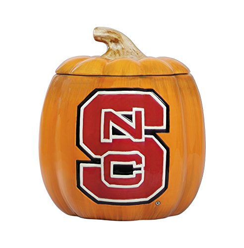 Cumberland Designs NC State Ceramic Pumpkin Treat -