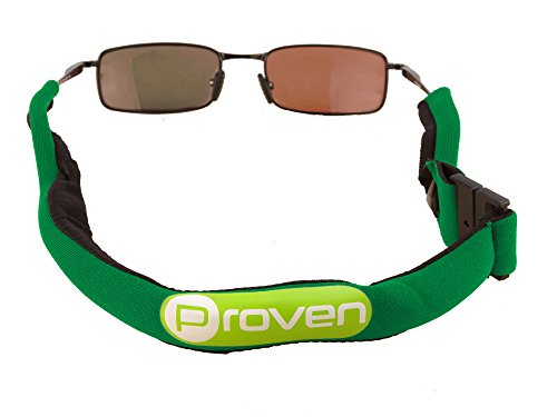 Premium Floating Sunglass Strap; Highly Visible Neoprene Sunglass Holder that Floats; Suitable for Men, Women and Kids - For Golfers Glasses