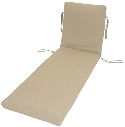 Sunbrella Outdoor WATERFALL CHAISE CUSHION by Comfort Classics - Cushion 23w Outdoor