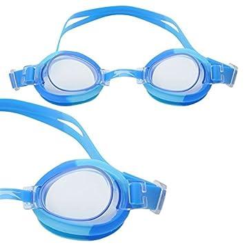 fea350ffc92 Slazenger Unisex Wave Swimming Goggles Juniors Blue  Amazon.co.uk  Sports    Outdoors