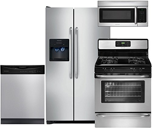 Frigidaire 4-Piece Stainless Steel Kitchen Package with FFSS2614QS 36