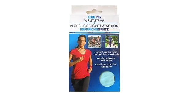 Amazon.com: Enfriamiento Correa para Muñeca (Varios, Colores ...