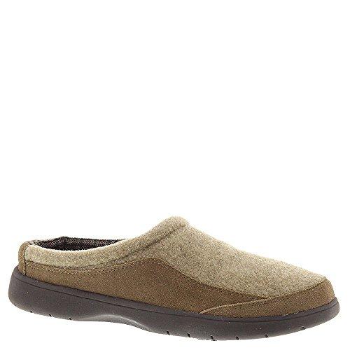 Men's Tempur-Pedic 'Downburst' Slipper, Size 13 M - Brown