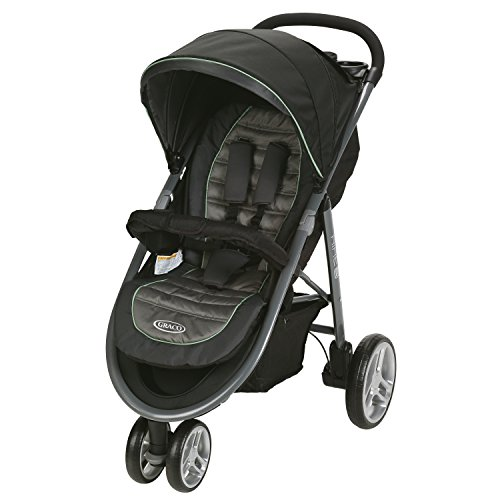 Graco Aire3 Stroller Lightweight Baby Stroller, Ames