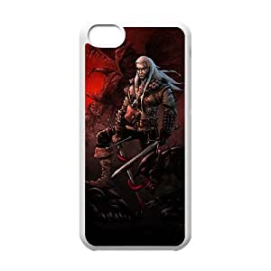 The Witcher iPhone 5c Cell Phone Case White custom made pgy007-9023270