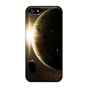 KennethKaczmarek Apple Iphone 5/5s Anti-Scratch Cell-phone Hard Covers Unique Design Realistic Space Image [yMw3220omKY]