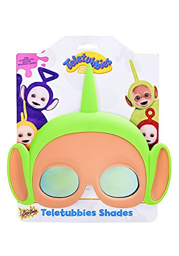 Sunstaches Teletubbies Dipsy Green Sunglasses, Party Favors,