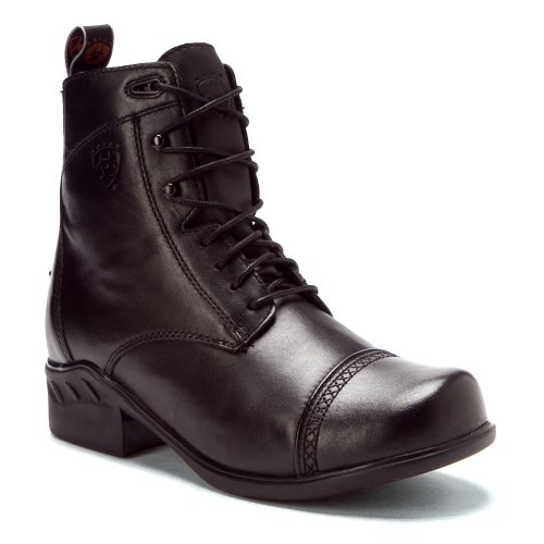 Lace Black Toe Womens Ariat Round Heritage Paddock qIOn8T