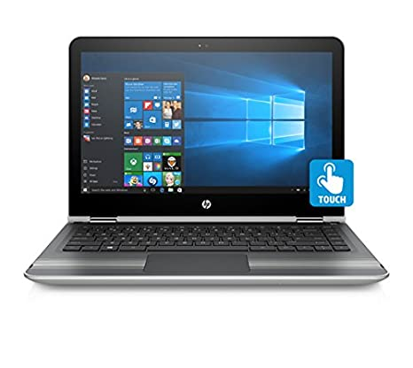HP Pavilion 13-U132TU x360 13.3-inch Laptop (7th Gen Core i5-7200U/4GB/1TB/Windows 10/Integrated Graphics), Natural Silver Laptops