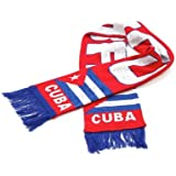 Cuba National Soccer Team   Premium Soccer Fan Scarf   Ships from USA