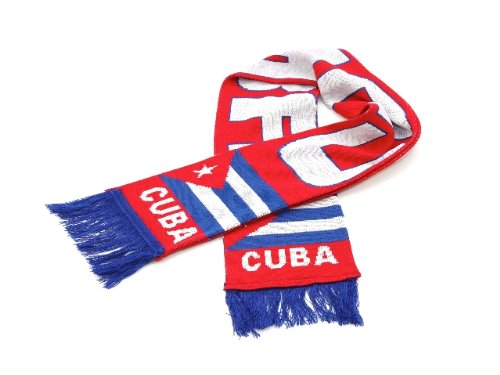 - Cuba National Soccer Team | Premium Soccer Fan Scarf | Ships from USA