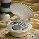 Breezee BZ7148 Soothing Shell Sound Machine - Pearl White