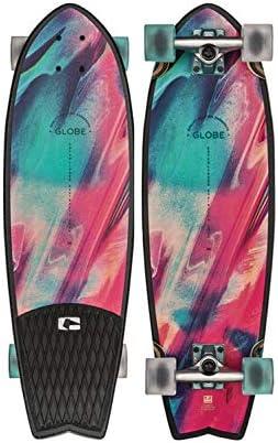 Globe Skateboards Sun City Cruiser Complete Skateboard, Lava Glamp, 30