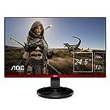 "AOC Gaming G2590FX - Monitor (62.2 cm (24.5""), 1920 x 1080 Pixeles, Full HD, LCD, 1 ms, Negro, Rojo)"