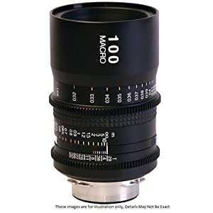 Tokina Cinema 100mm AT-X Macro T2.9 Fixed Prime for Canon EF Mount Cameras, Black (TC-M100C)