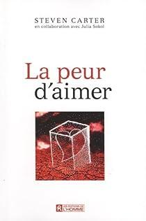 Book's Cover ofLa peur d'aimer