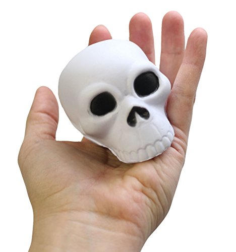 Curious Minds Busy Bags 1 Skull Stress Ball Toy - Doctor, Nurse, Med Students, Radiologist Halloween