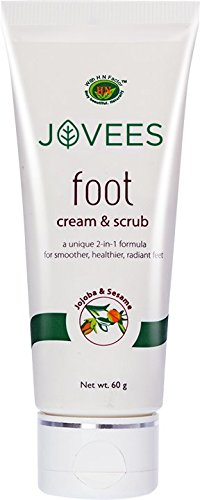 Jovees Foot Cream & Scrub 60g