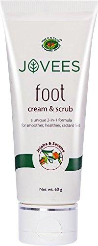 Jovees Foot Cream & Scrub 60g (Best Fungal Infection Cream In India)