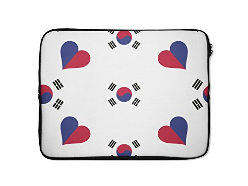 Style in Print Korea South Country Flag Heart Laptop Ipad...