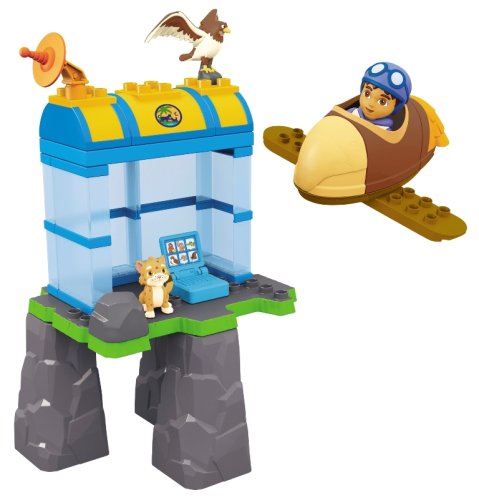 Mega Bloks Diego's Buildable Hawk Rescue