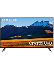 SAMSUNG 86-Inch Class Crystal UHD TU9000 Series - 4K UHD HDR Smart TV with Alexa Built-in (UN86TU9000FXZA, 2020 Model), Black