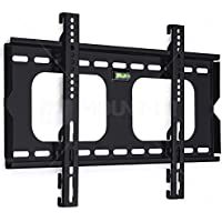 Mount-It! MI-305S Fixed Height Adjustable TV, LCD, OLED, Computer Monitor Flat Screen Wall Mount Stand for 23 to 37 Inch Displays and VESA Compatible