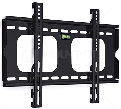 Charming Mount It! MI 305S Fixed Height Adjustable TV, LCD, OLED, Computer Monitor  Flat Screen Wall Mount Stand For 23 To 37 Inch Displays And VESA Compatible
