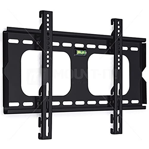 Mount It! MI 305S Fixed Height Adjustable TV, LCD, OLED, Computer Monitor  Flat Screen Wall Mount Stand For 23 To 37 Inch Displays And VESA Compatible