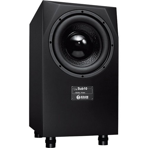 Adam Audio Sub10 Mk2 Powered Studio Subwoofer Black by Adam Audio
