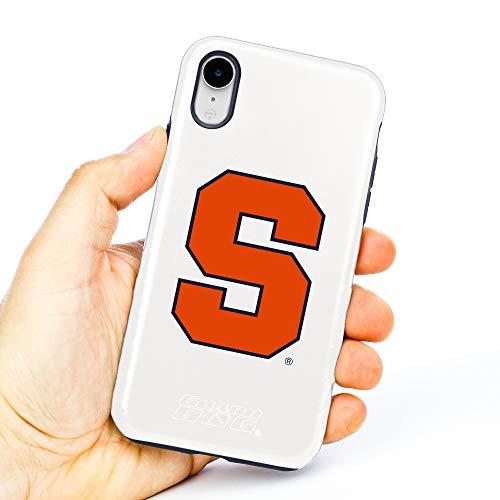 New Guard Dog Syracuse Orange - Hybrid Case for iPhone XR - White orange iphone xr case 4