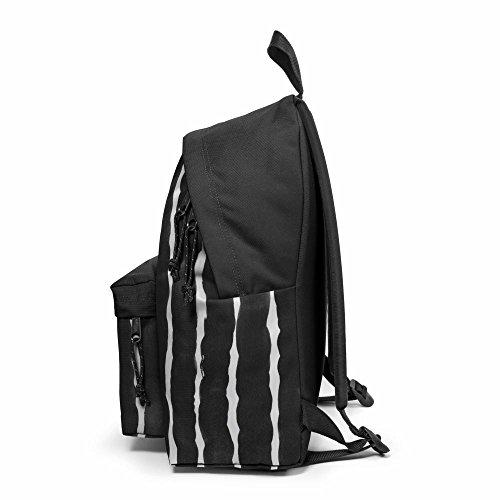 Eastpak Tasche, graues Leder - Größe: M Worms Xl