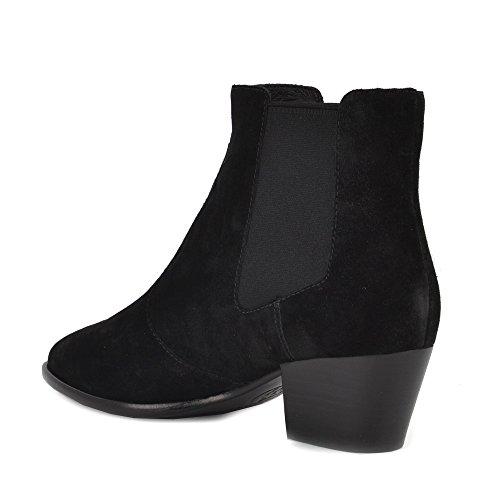 ASH Schuhe Holly Boots aus Wildleder Schwarz Damen Schwarz