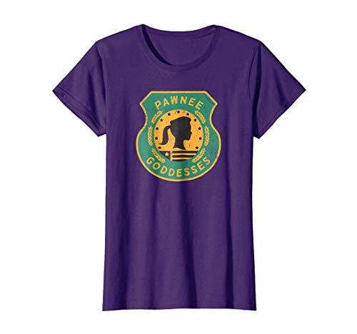 Womens Womens Ladies Girls Pawnee Goddesses Scout Shirt ()