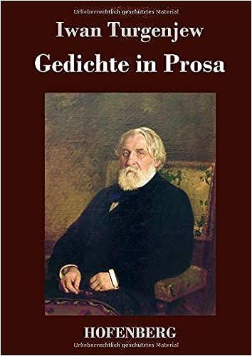 Gedichte in Prosa by Ivan Sergeevich Turgenev