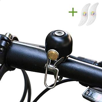 OTraki Timbre Bici Metal Timbre Campana (Fuerte y Claro Sonido ...