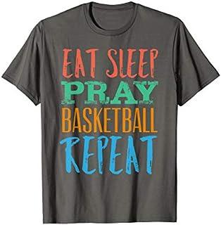 Best Gift Eat Sleep Basketball Repeat Sport Boy Girl Basketball Lover  Need Funny TShirt