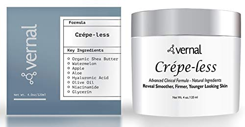 41z6u3m%2BGeL - Crepe-less skin firming cream to repair crepey arms and neck. Best tightening cream to erase crepy skin on arms, neck and body. Best moisturizer to treat saggy, crepe skin. Made in USA