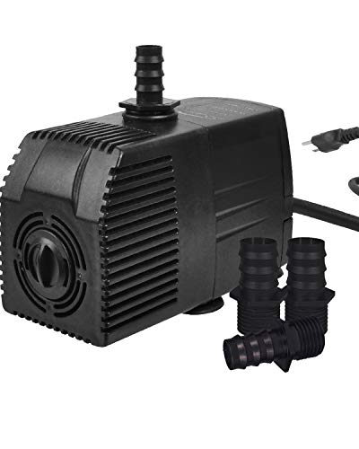 Simple Deluxe 400 GPH UL Listed Submersible Pump with 15'